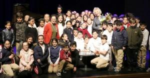 Dünyaca ünlü piyanistimiz Gülsi nOnay MSKM'deydi.