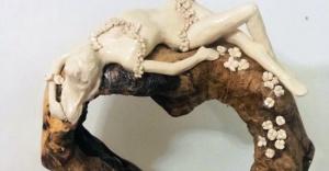 Zeytin Ağaçları Sanatla Bütünleşiyor