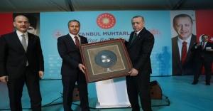 Recep Tayyip Erdoğan İstanbul Muhtarları ile iftarda biraraya geldi.