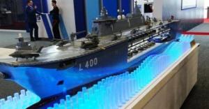Türkiye'nin amiral gemisi suyla buluştu!