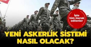 Yeni Askerlik Sistemi Meclise Geliyor