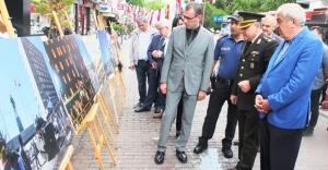 15 Temmuz Demokrasi Sergisi Ataşehir Prestij Caddesi'nde Açıldı