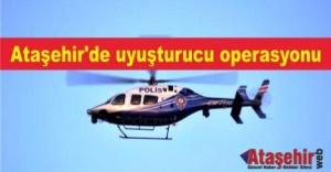 Ataşehir#039;de helikopter destekli...