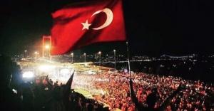 İSTANBUL'DA 15 TEMMUZ TÖRENİ SARAÇHANE'DE