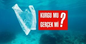 Plastik poşet 11 bin metre derinliğe iner mi?