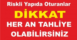 bspan style=color:#ff0000Riskli Binada Oturanlar Her an Tahliye.../span/b