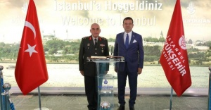 1'nci Ordu Komutanı'ndan İBB Başkanı'na ziyaret