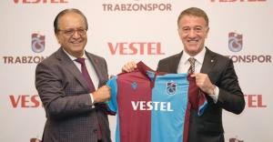 Vestel'le Trabzonspor arasında Anlaşma