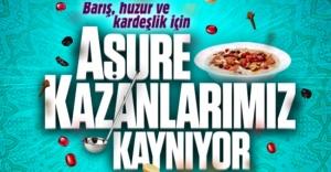 ATAŞEHİR'DE AŞURE KAZANLARI KAYNIYOR