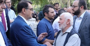 Enerji Tabii Kaynaklar Bakanı Bakan Dönmez'in acı günü