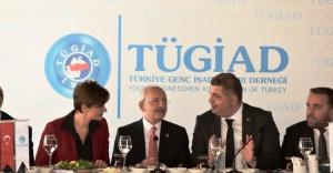 Kılıçdaroğlu, TÜGİAD Yöneticileri İle Bir Araya Geldi