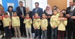 Şehit Polis Burak Yıldız Kütüphanesi törenle açıldı