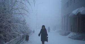 Rusya'da hava sıcaklığı -51 dereceye düştü