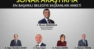 SONAR'ın anketine göre en başarılı belediye başkanları