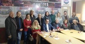 AYEDER 10 Ocak Çalışan Gazeteciler gününde gazetecileri unutmadı