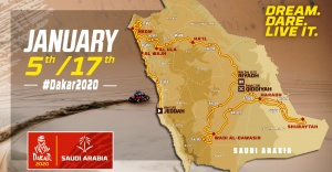 Dakar Rallisi yarın Suudi Arabistan'da başlıyor