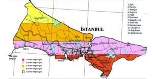 İstanbulda fay hattına en yakın...