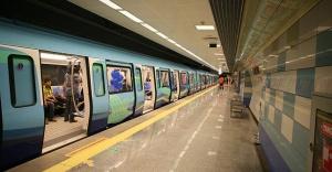 İstanbulda yeni metro hattı hizmete...