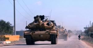 TSK tank ve komandoları, cephelere intikale başladı