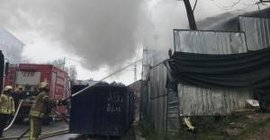 Ataşehir'de hurdacı! Aynı gün iki kez yandı