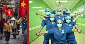 Çine komşu; Virüsü yenen ülke: Vietnam