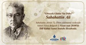 Sabahattin Ali'yi, 72. ölüm yıldönümünde anılıyor