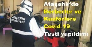 Ataşehir#039;de Berberler ve Kuaförlere...