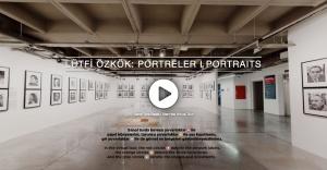 """""""Lütfi Özkök: Portreler"""" sergisini sanal turla keşfedin"""