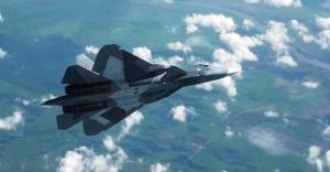 Su-57 savaş uçağının pilotsuz denemeleri yapılıyor