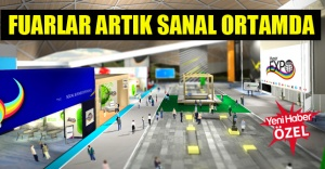 Türkiye'nin ilk sanal fuarı