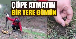 ÇEKİRDEKLERİ ÇÖP TORBASINA KOYMAYIN !!!