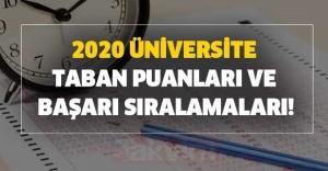 2020 Üniversitelerin Güncel Taban...