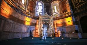Ayasofya Camii 86 yıl sonra bayram namazına hazır