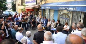 KAFTANCIOĞLU VE ODABAŞI'NDAN FİKİRTEPE'DE KIRAATHANE ZİYARETİ