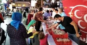 SULTANBEYLİ MHP'DEN AŞURE İKRAMI !