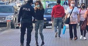 Ataşehir'de maske denetimi yapıldı