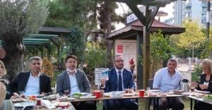 CHP Ataşehir, Muhtarlar ve Gazeteciler İle Buluştu