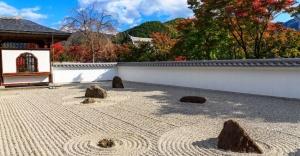 Japon kaya bahçeleri veya Zen bahçeleri