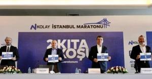 N Kolay 42. İstanbul Maratonu Tanıtımı yapıldı