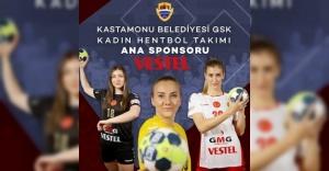 Vestel Kastamonu Kadın Hentbol Takımı'nın ana sponsoru oldu