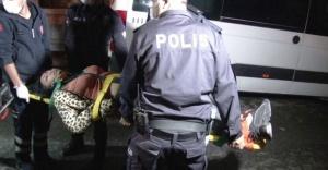 Ataşehir'de eğlence mekanına korona baskını: 2 yaralı