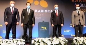 Ataşehir-Monheim dostluğu ödül aldı