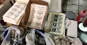 Ataşehir'de sahte para basan matbaaya baskın: 3 gözaltı!