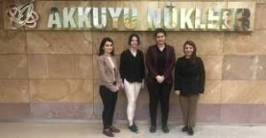 Türk Nükleer Mühendis Kızların Büyük Başarısı