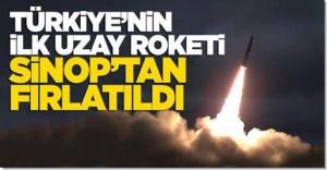 Türk Roketi İlk Kez Sıvı Yakıtla Uzayda
