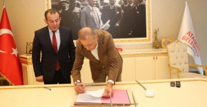 Ataşehir ve Bolu kardeş Belediye oldu