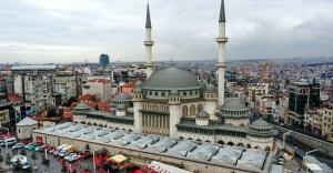 Taksim caminin yüzde 99'u tamamlandı
