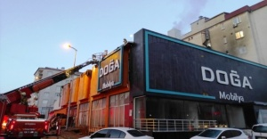 Ataşehir'de mobilya fabrikada yangın!