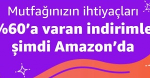 Amazon Türkiye Gıda ve İçecek kategorisi açıldı
