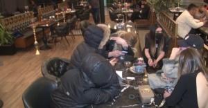 Ataşehir'de nargileli okey partisine polis baskını